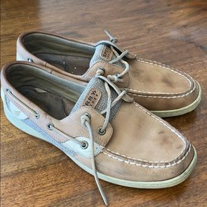 FREE Well Worn Sperry Topsiders